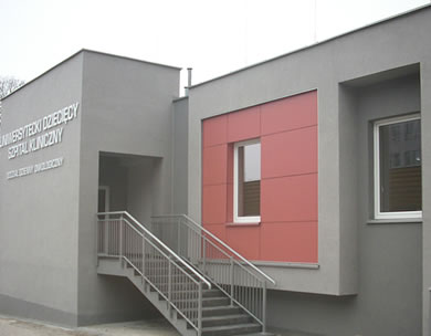 realizacje szpital DSK w Białymstoku